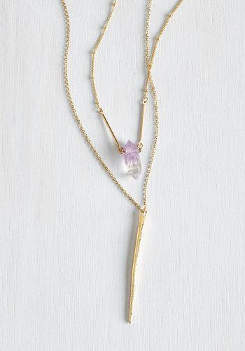 Anaaccessoriesinc Ode To Geode Necklace