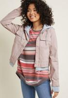 Modcloth Outdoors Endorsement Jacket In S