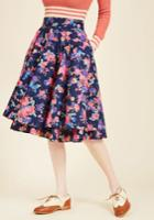 Essence Of Elan Midi Skirt In Xs