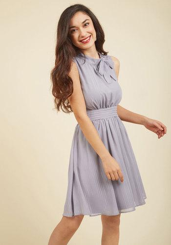 Sunny City A-line Dress In Moon In Xl