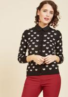 Speak Above A Whisker Cardigan In Xs