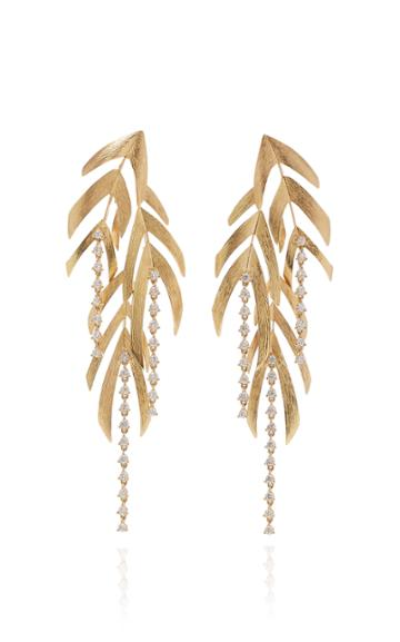 Hueb Cascading Tendril Earrings