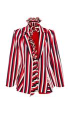 Maggie Marilyn I Lead From The Heart Striped Blazer