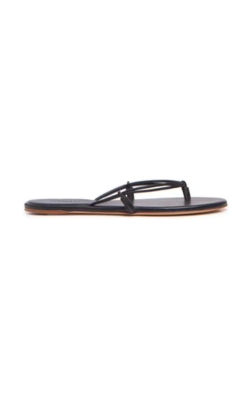 Moda Operandi Gabriela Hearst Leather Flip Flops