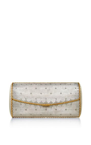 Buccellati One Of A Kind Sterling Silver And Gold Evening Clutch