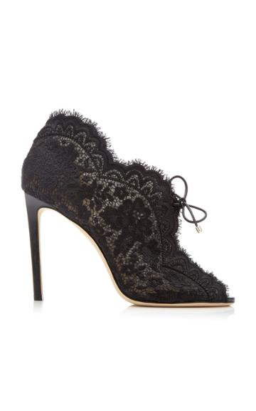 Jimmy Choo Kaiana Floral Lace Pumps