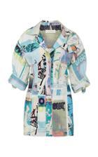 Moda Operandi Zimmermann Glassy Safari Mini Dress Size: 0