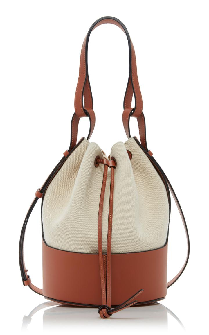 Loewe Balloon Two-tone Canvas Shoulder Bag