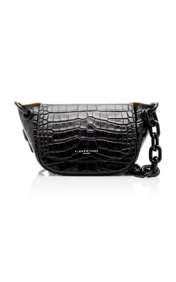 Simon Miller Bend Croc-embossed Leather Bag