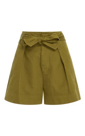 Isabel Marant Toile Oscar Cotton Shorts