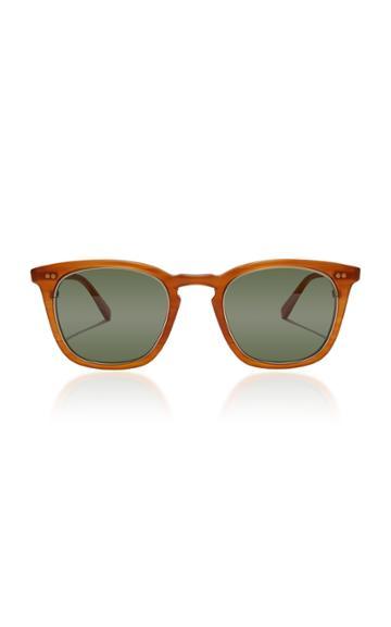 Mr. Leight Getty S 48 D-frame Tortoiseshell Acetate Sunglasses