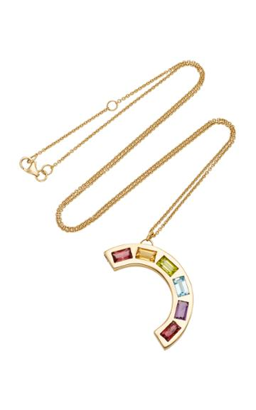 Brent Neale M'o Exclusive Extra Large Deconstructed Rainbow Necklace