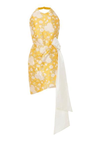 Moda Operandi Markarian Bellini Brocade Mini Wrap Skirt Dress Size: 0