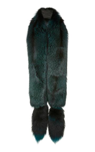 Lysa Lash Furs Silver Fox Boa