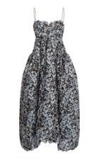 Moda Operandi Cecilie Bahnsen Leandra Floral-print Crepe Dress