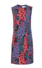 Carolina Herrera Sleeveless Printed Shift Dress