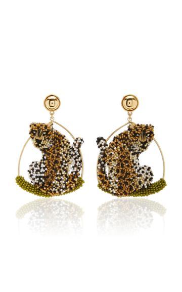 Moda Operandi Mignonne Gavigan Leopard Swing Earring