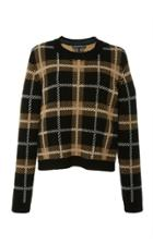 Alberta Ferretti Crewneck Wool Pullover