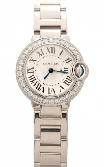 Moda Operandi Stephanie Windsor One Of A Kind Cartier Ballon Bleu Watch