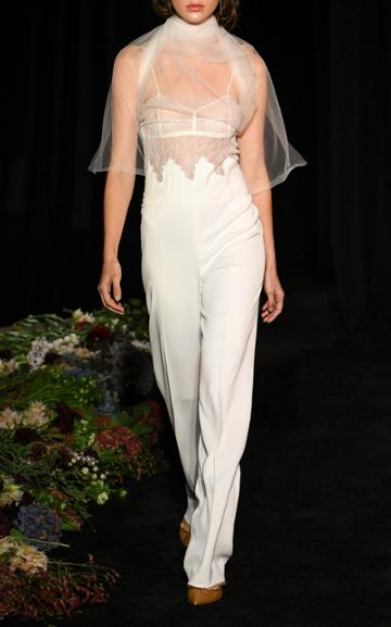 Moda Operandi Danielle Frankel Delilah Crepe Jumpsuit Size: 0