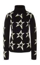 Perfect Moment Star Dust Oversized Merino Wool Turtleneck Sweater