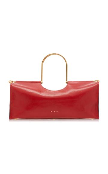 Marni Leather East West Tote