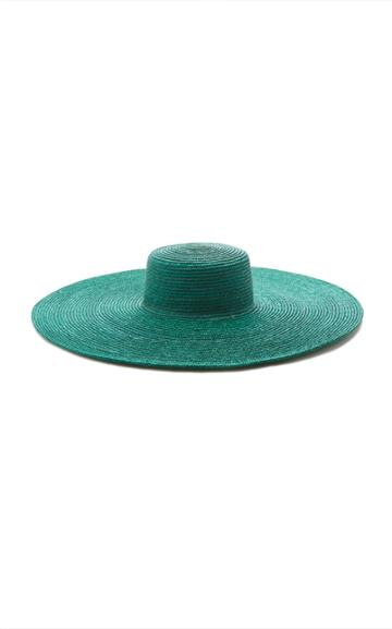 Elie Saab Natural Straw Sun Hat