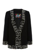 Moda Operandi Libertine Pearl-embellished Stretch-wool Blazer