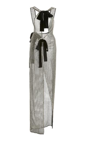 Moda Operandi Tom Ford Bow-embellished Chainmail Dress