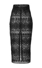Kalmanovich Lace Pencil Skirt