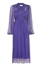 Moda Operandi Zimmermann Luminous Silk Smock Midi Dress