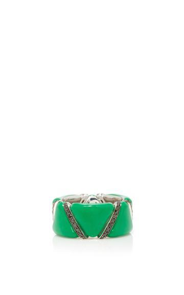 Qayten Ez Green Ring