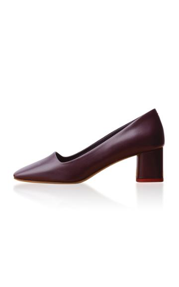 Aeyde Meghan Leather Pumps