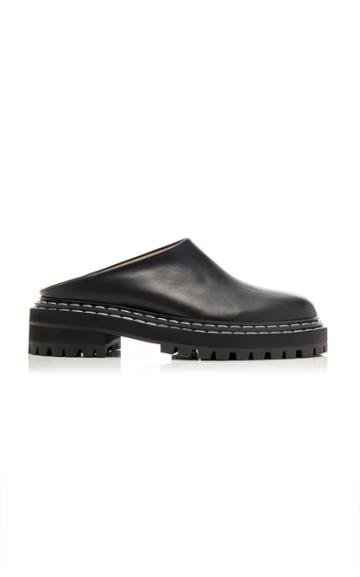 Moda Operandi Proenza Schouler Leather Lug Sole Clogs