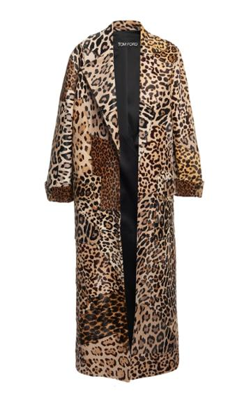 Moda Operandi Tom Ford Printed Fur Coat