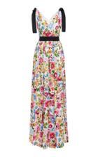 Escada Geela Floral Maxi Dress