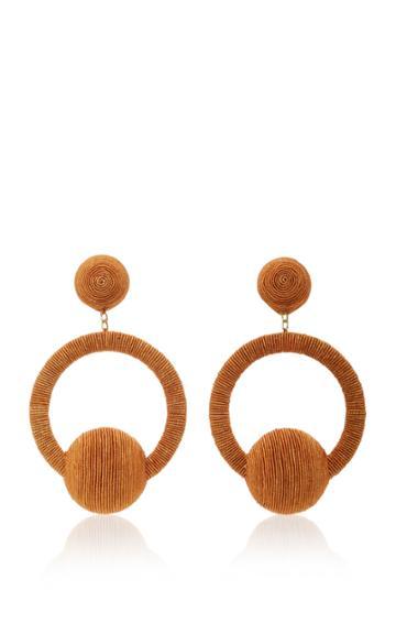 Rebecca De Ravenel Iman Hoop La La Earrings