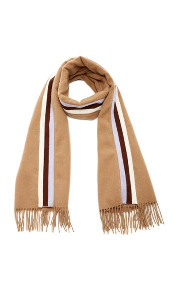 Donni. Racer Striped Wool Scarf