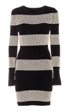 Genny Striped Knit Dress