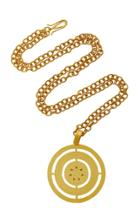 Paula Mendoza Costa Gold-plated Brass Necklace