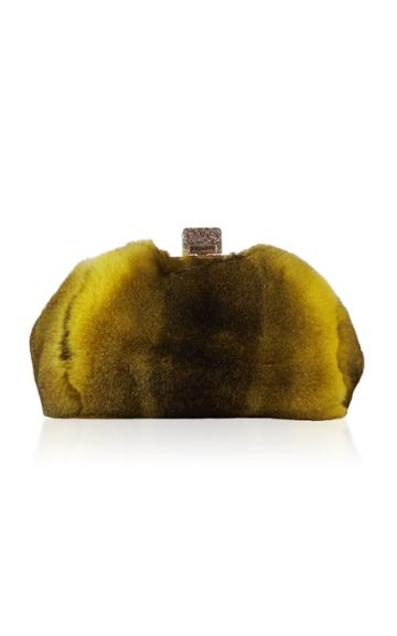 Edie Parker Small Parker Fur Clutch
