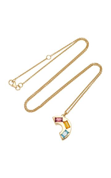 Brent Neale M'o Exclusive Small Deconstructed Rainbow Necklace