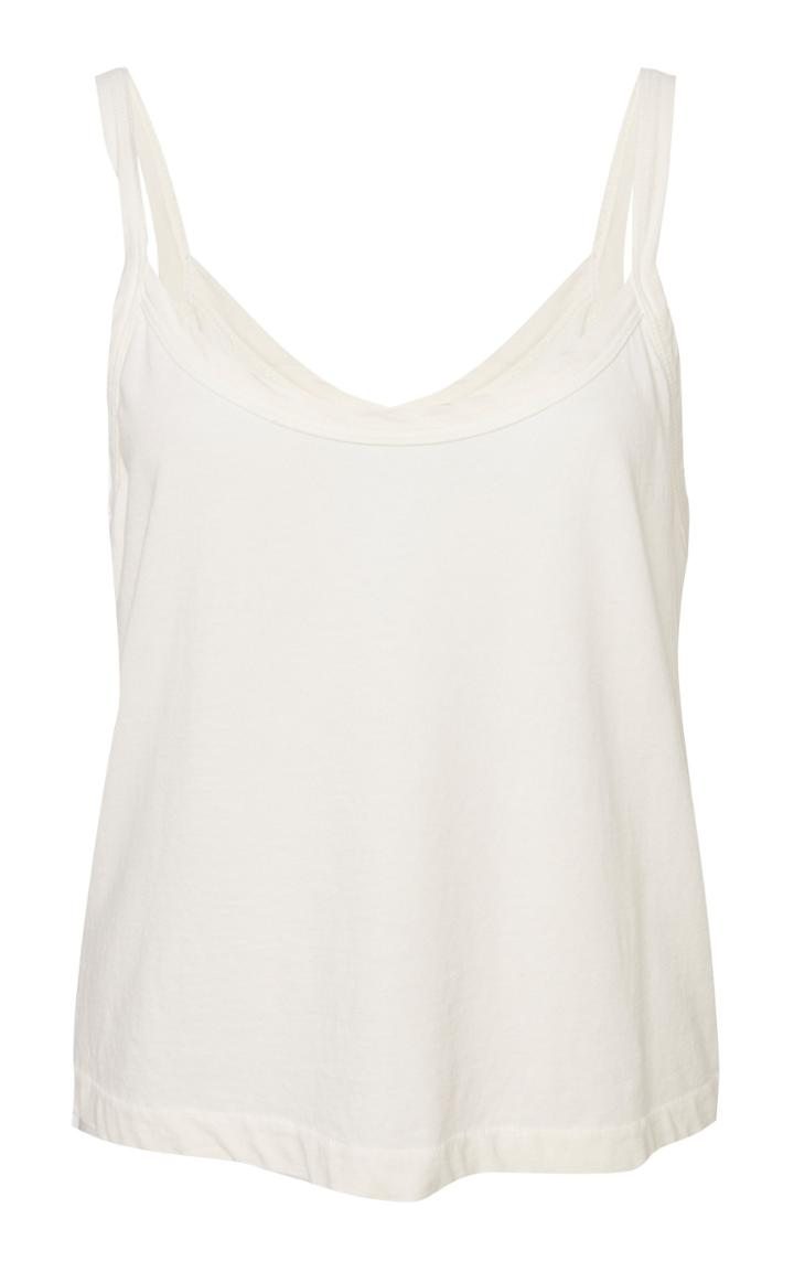Re/done Scoopneck Cotton Tank Top