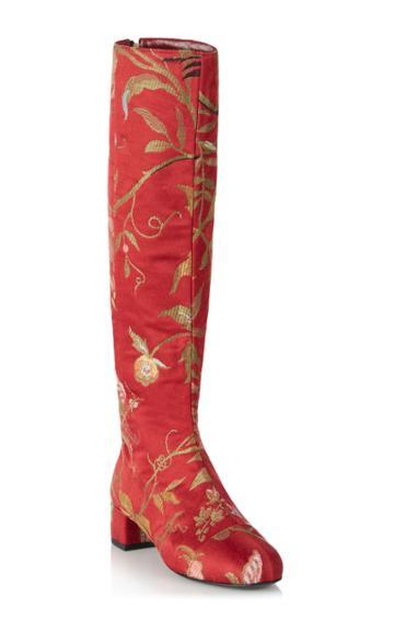 Rubeus Milano Cuissard Birds Knee Boots