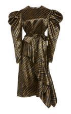 Moda Operandi Ulla Johnson Clio Belted Satin Dress
