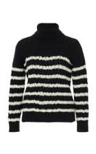 Loewe Stripe Cable Knit Sweater