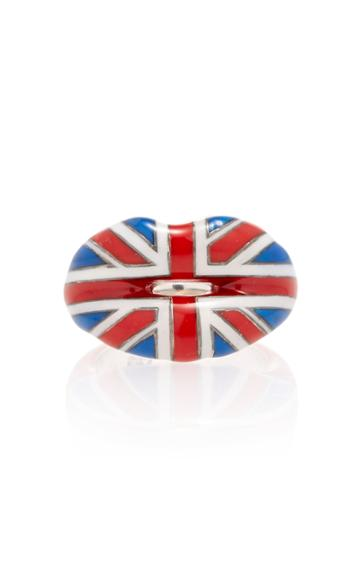 Hot Lips By Solange Union Jack Hotlips Ring
