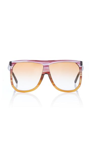 Loewe Sunglasses Filipa Two-tone Acetate Sunglasses