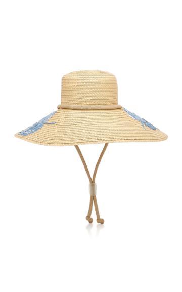 Eric Javits Tahiti Embroidered Sun Hat