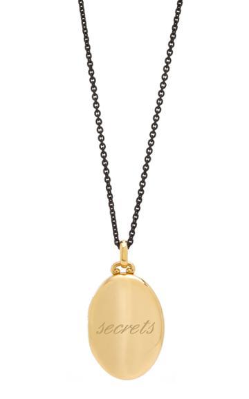 Monica Rich Kosann Custom Four Image Midi Locket 32 Necklace